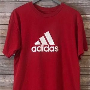 Red Adidas TSHIRT